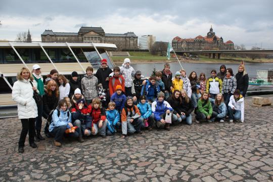 Pořádáme zájezdy do zahraničí, Drážďany, prosinec 2008