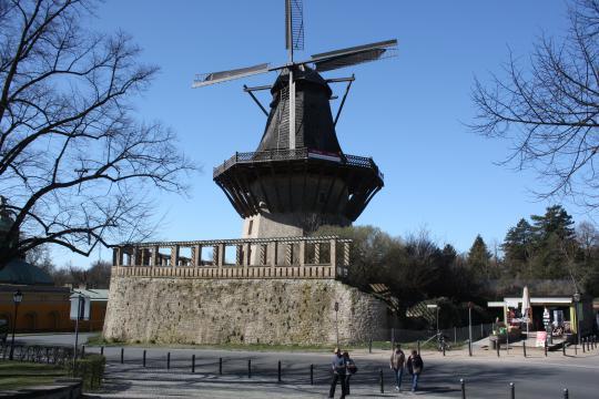 Větrný mlýn Potsdam