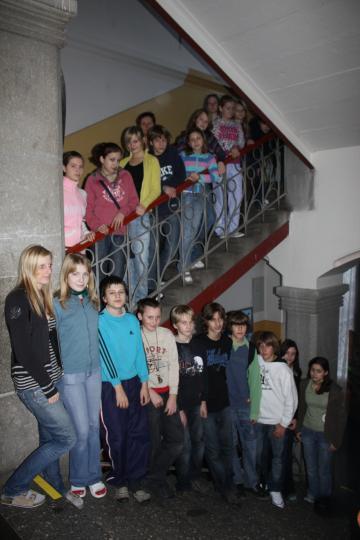Zpívání na schodech - 18.12.2008