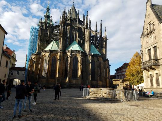 Výlet 7. tříd do Prahy